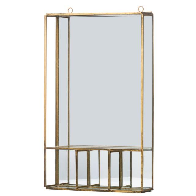 Specchio portacose in ottone