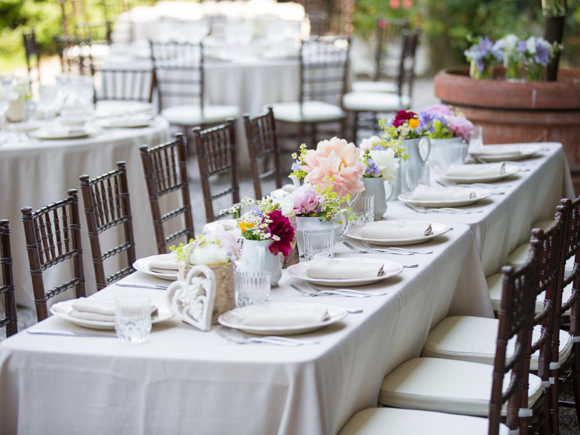 tavola matrimonio estate Hanami